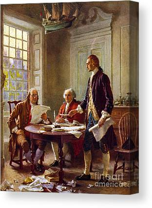 Colonial Man Canvas Prints