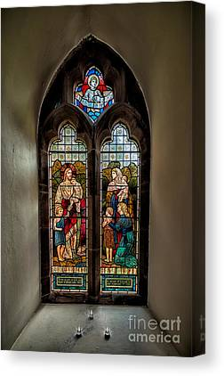 Stained Glass 3 Canvas Prints