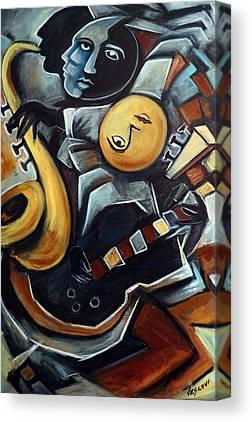 Cubism Canvas Prints