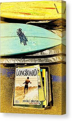Surfing Magazine Canvas Prints