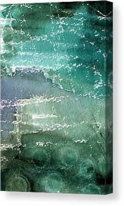 Blue Pool Canvas Prints
