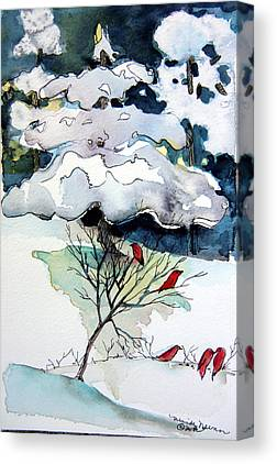 Snow Drifts Mixed Media Canvas Prints