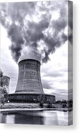 Nuclear Plants Canvas Prints