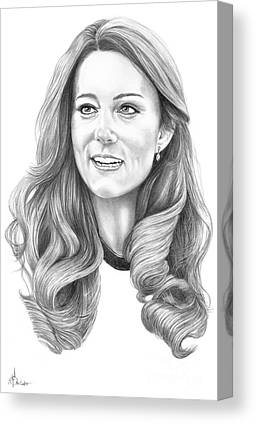 Kate Middleton Canvas Prints