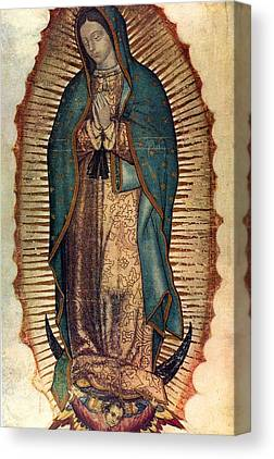 Virgin Guadalupe Canvas Prints