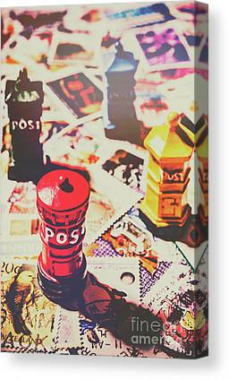 Postoffices Canvas Prints