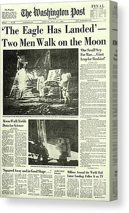 Washington Post Canvas Prints