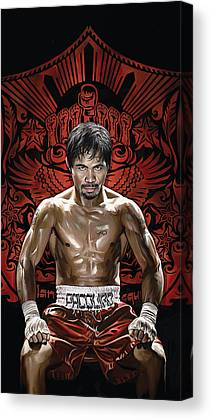 Manny Pacquiao Canvas Prints