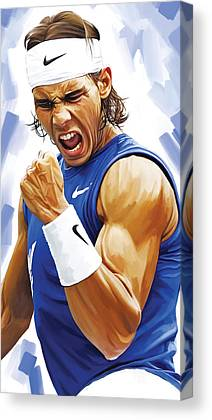 Nadal Canvas Prints
