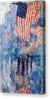 Childe Hassam Canvas Prints