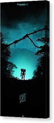 Metroid Canvas Prints