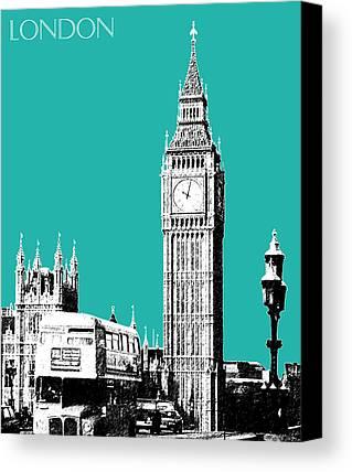 London Skyline Canvas Prints