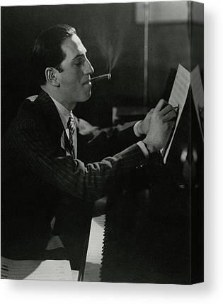 Gershwin Canvas Prints