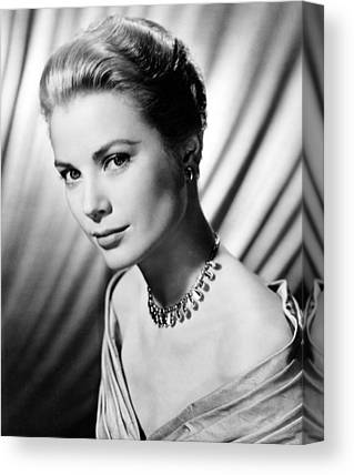 Grace Kelly Canvas Prints
