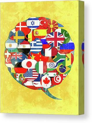 Stunning Algerian Flag Art | Fine Art America