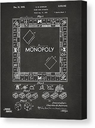 Monopoly Canvas Prints