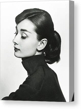 Audrey Hepburn Canvas Prints