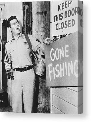 Andy Griffith Show Photographs Canvas Prints