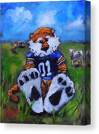 Mascots Canvas Prints