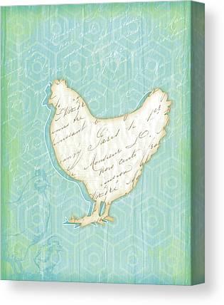 Chicken Canvas Prints