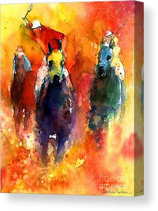 Impressionistica Horse Art Canvas Prints