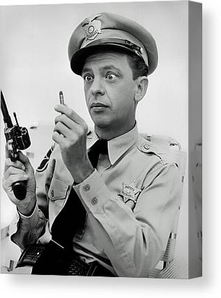 Andy Griffith Show Canvas Prints