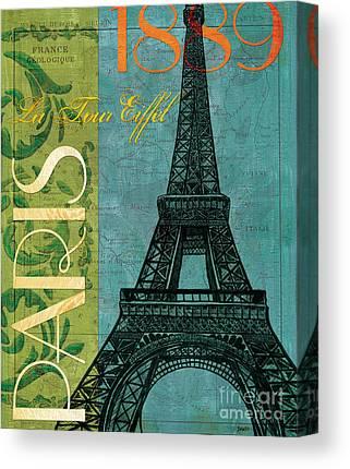 La Tour Eiffel Canvas Prints