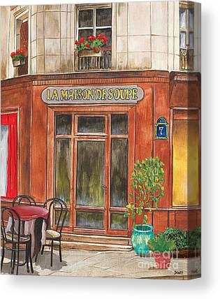 Storefront Canvas Prints