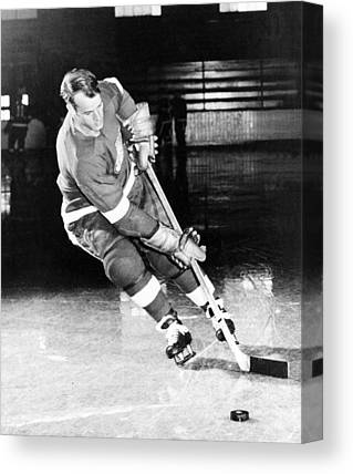 Gordie Howe Canvas Prints