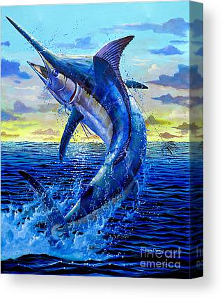 Swordfish Canvas Prints