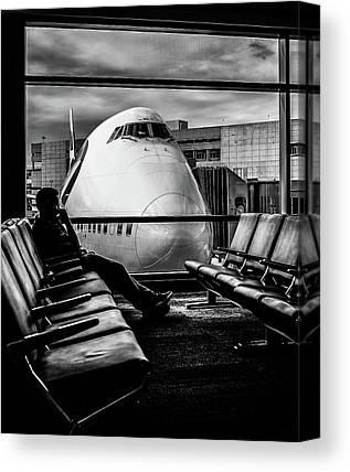 Airport Canvas Prints
