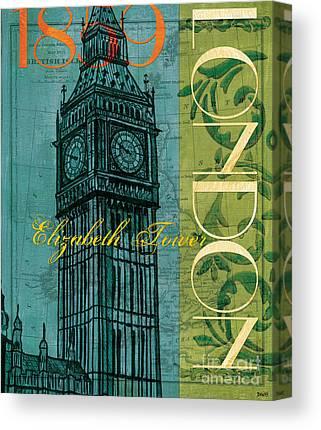 Elizabeth Tower Canvas Prints