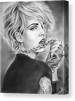 Madonna Drawings Canvas Prints