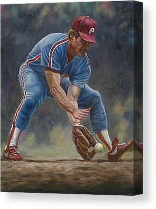 Steve Carlton Canvas Prints