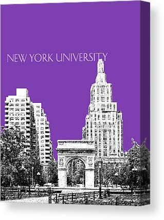 New York University Canvas Prints