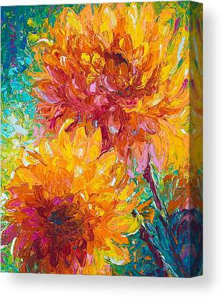 Alaskan Flower Canvas Prints