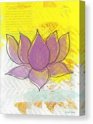 Lotus Blossoms Canvas Prints