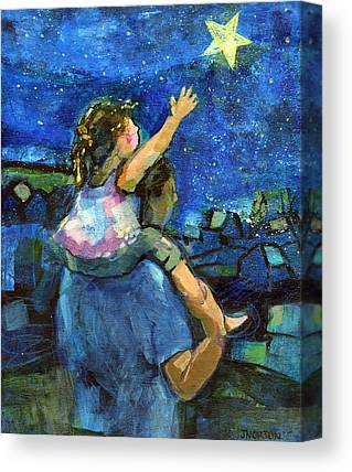Daughter Gift Canvas Prints