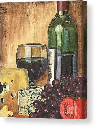 Wine Down - Canvas Art Prints