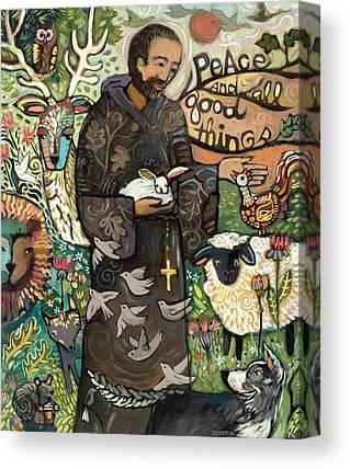 Biblical Art Canvas Prints