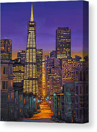 City-scapes Canvas Prints