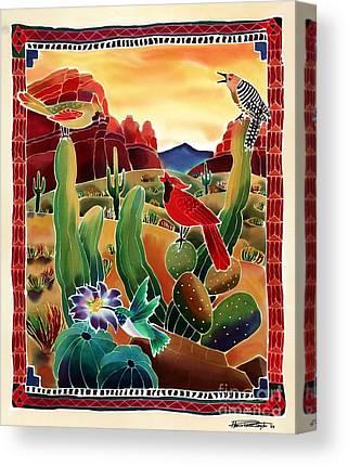 Desert Sunrises Canvas Prints
