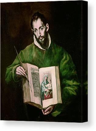 Saint Luke Canvas Prints