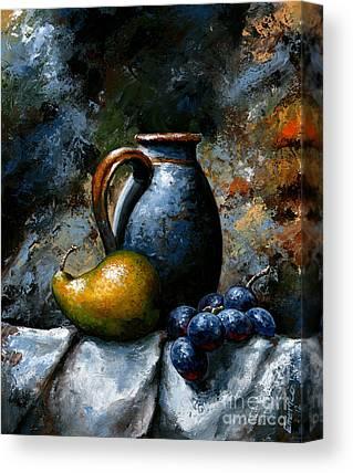 Impressionist Mixed Media Canvas Prints