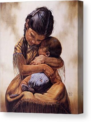 Spirit Child Canvas Prints