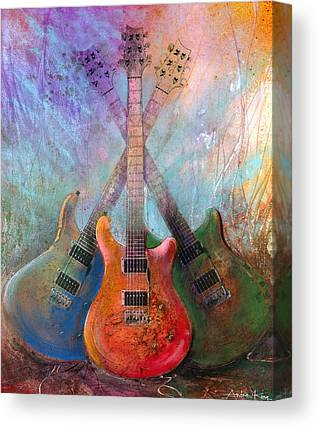 Paul Reed Smith Canvas Prints