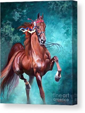Equestrian Canvas Prints