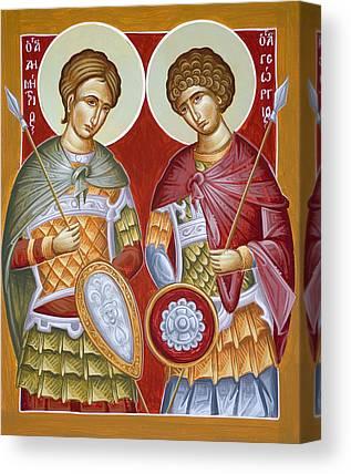 St Dimitrios Canvas Prints
