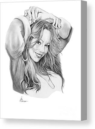 Mariah Carey Canvas Prints