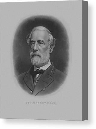 The General Lee Drawings Canvas Prints